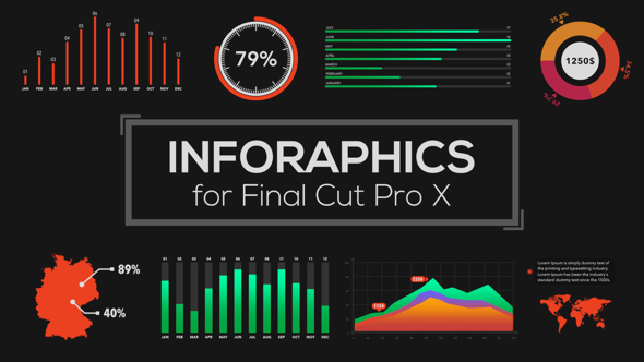 Infographics Builder for Final Cut Pro X