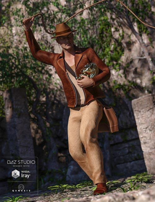 Worldly Jones for Genesis 3 Male(s)