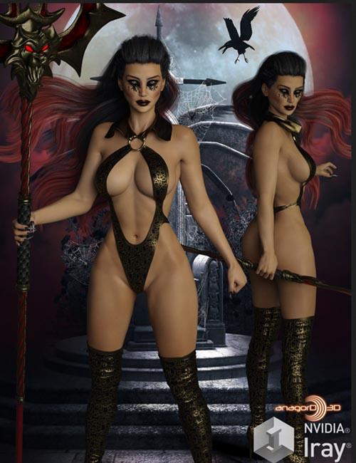 BLACKHAT - Vamps for Genesis 3 Femalea