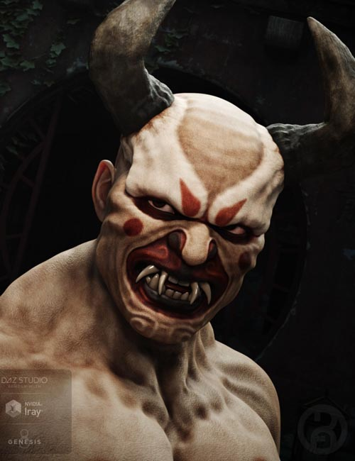 Oni Demon for Genesis 8 Male(s)