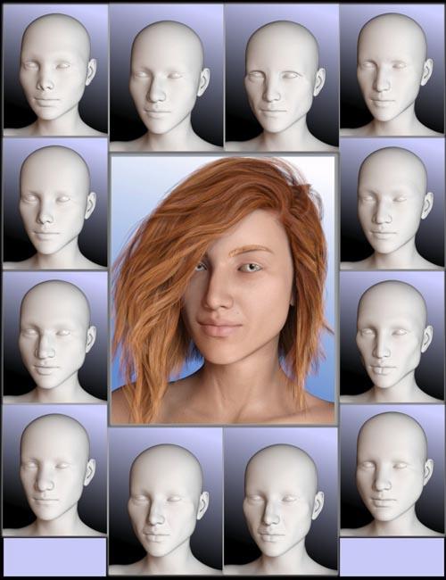 People of Earth: Faces of Europe Genesis 8 Female