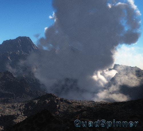 QuadSpinner – Volcan Arsolis (Vue)