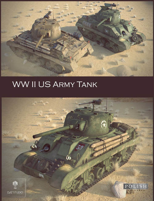 WW II US Army Tank