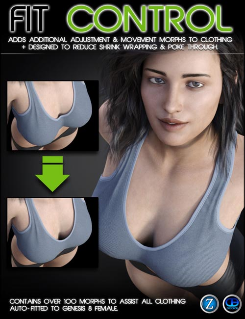 Fit Control for Genesis 8 Female(s)