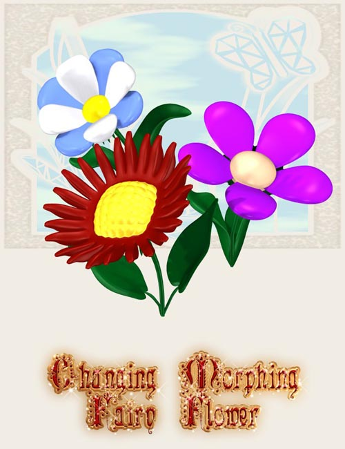 Changing Morphing Fairy Flower