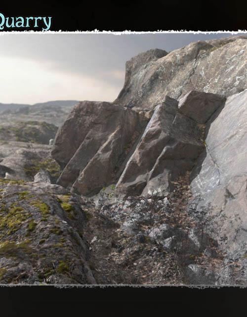 3D Scenery: Ancient Cliffs