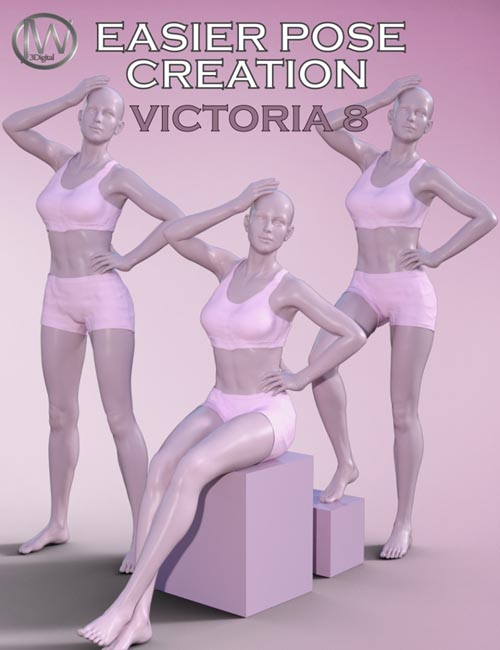Easier Pose Creation for Genesis 8 Female and Victoria 8