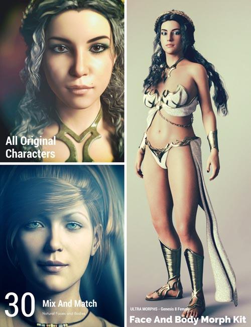 Face and Body Morph Kit for Genesis 8 Female