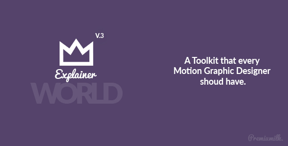 Explainer World Video Toolkit Library