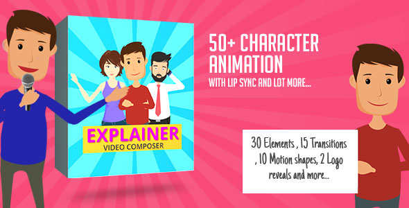 Character Animation Composer - Explainer Video Toolkit