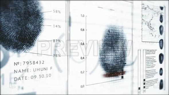 3D Fingerprints Interface