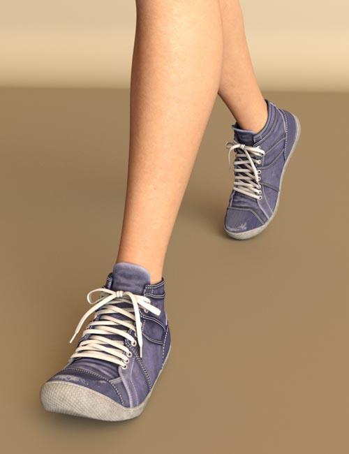JooJoo Sneakers for Genesis 8 Female(s)