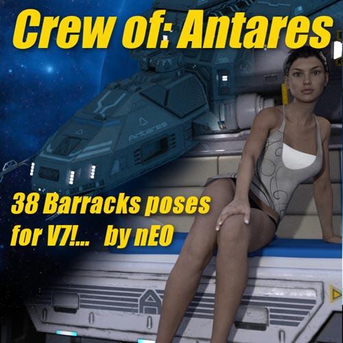 Crew Of Antares V7 Barracks