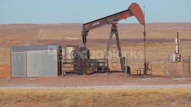 Oil Rig in Rural Setting 3