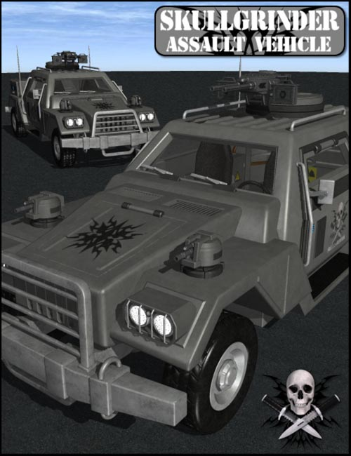 SkullGrinder Assault Vehicle