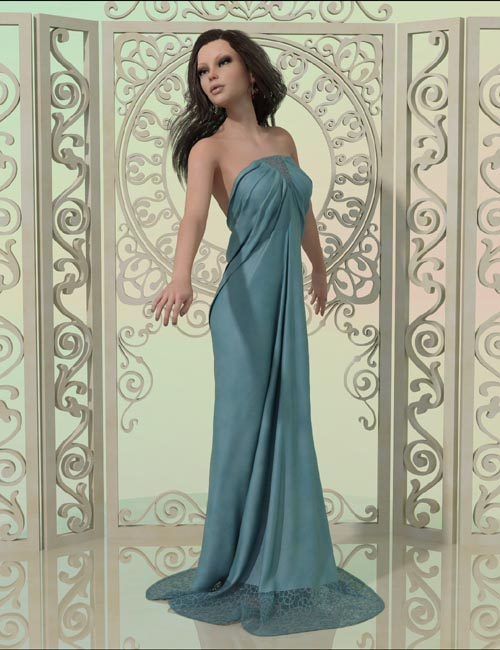 dForce - Art Deco Dress for G8F