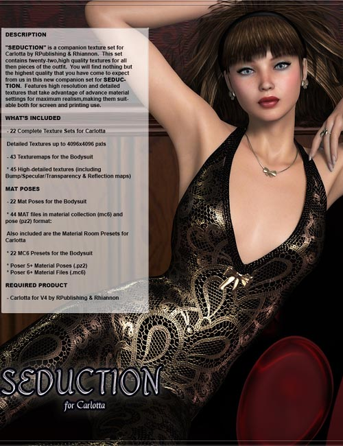 SEDUCTION for Carlotta