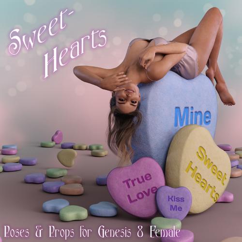 SweetHearts for Genesis 8 Females