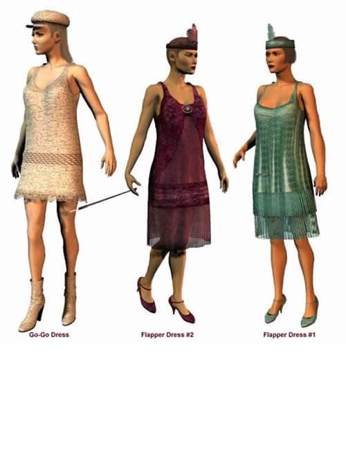 zz* - Flapper Dress Pack