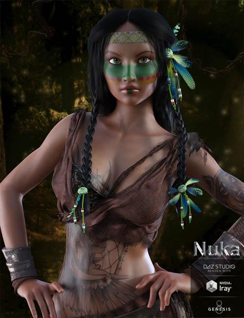 Nuka for Genesis 8 Female