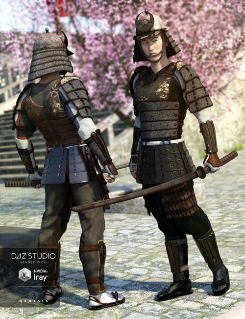 Shi No Kage Samurai Armor Textures