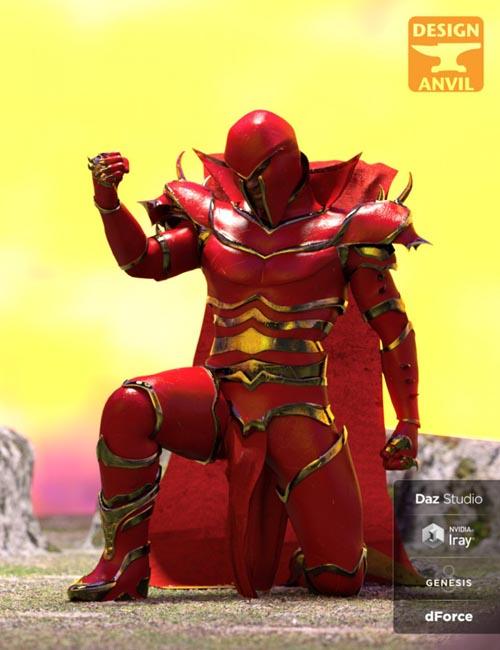 DA dForce Super Villain Armor for Genesis 8 Male(s)