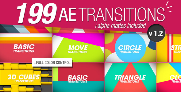 199 Transitions Pack v1.2