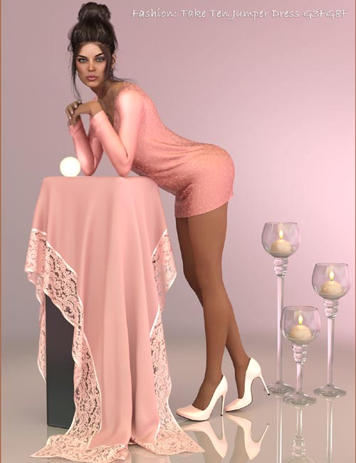 Fashion: Take Ten Jumper Dress G3FG8F