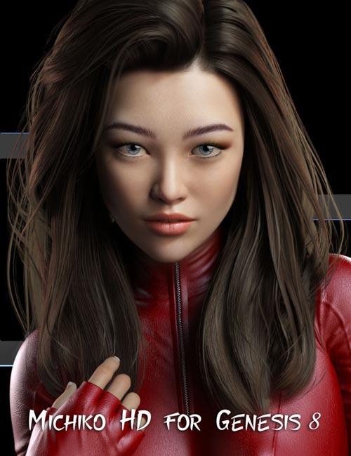Michiko HD for Genesis 8 Female