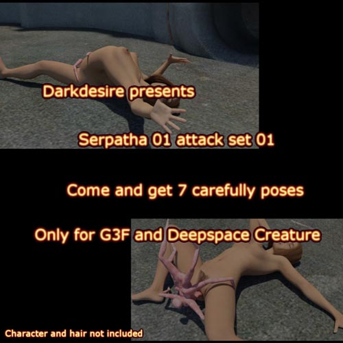 Serpatha Adventure For G3F Set 01