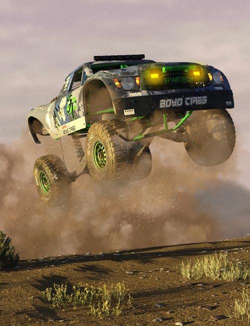 Baja Raptor Rally Truck