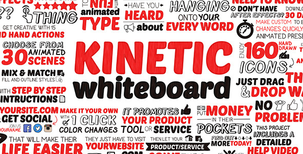 Kinetic Whiteboard