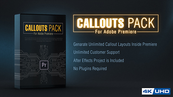 Callout Line Pack For Premiere