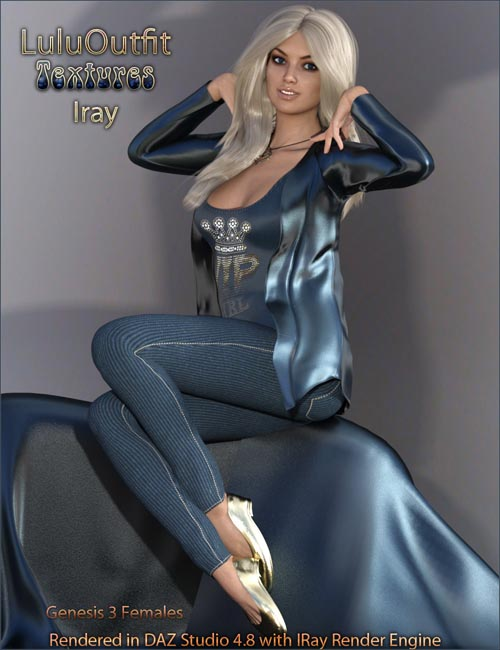 Lulu Outfit Textures IRay