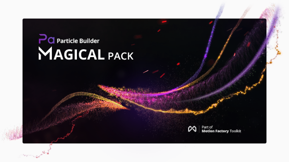 Particle Builder | Magical Pack: Magic Awards Abstract Particular Presets