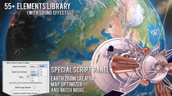 Earth Zoom Pro Kit