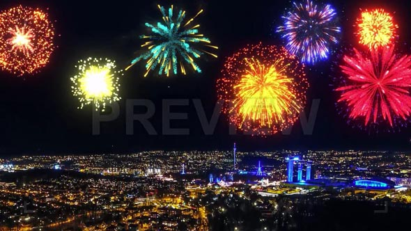 Colorful Fireworks Pack