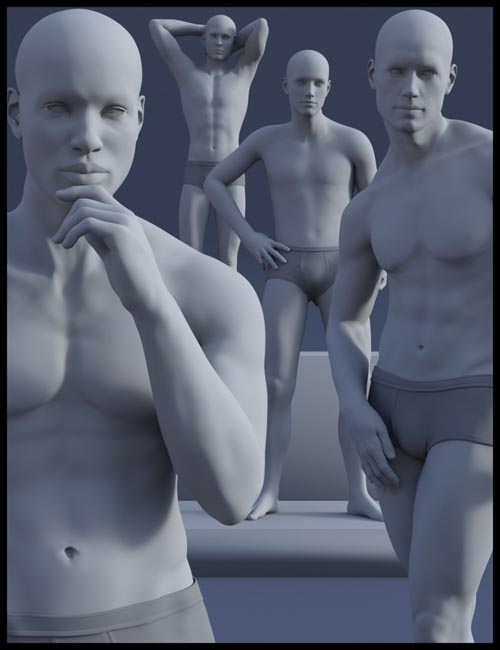 Composed Poses for Genesis 8 Male(s)