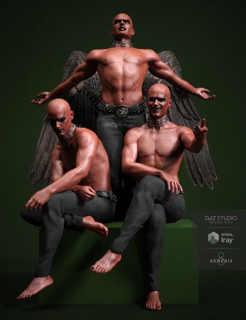 RealDevil Poses for Genesis 8 Male(s)