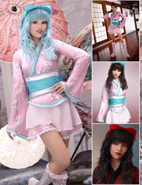 Lolita Kimono Bundle