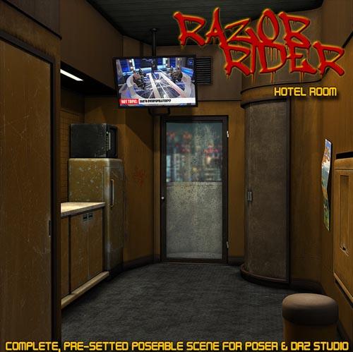Razor Rider_Hotel Room