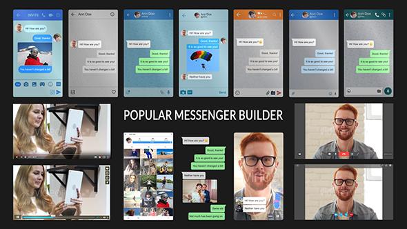 Popular Messenger Builder v2.0