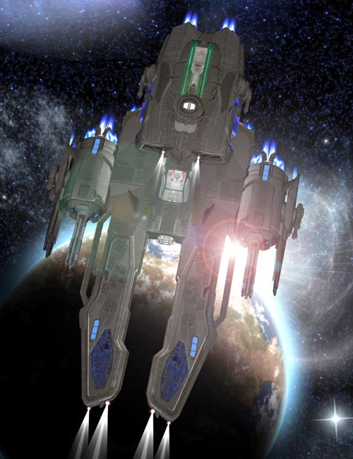UEF Arachnid Class Destroyer Escort