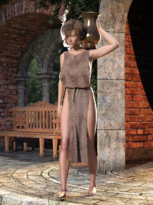 SY Rag Tunic dForce Iray Genesis 8 Female