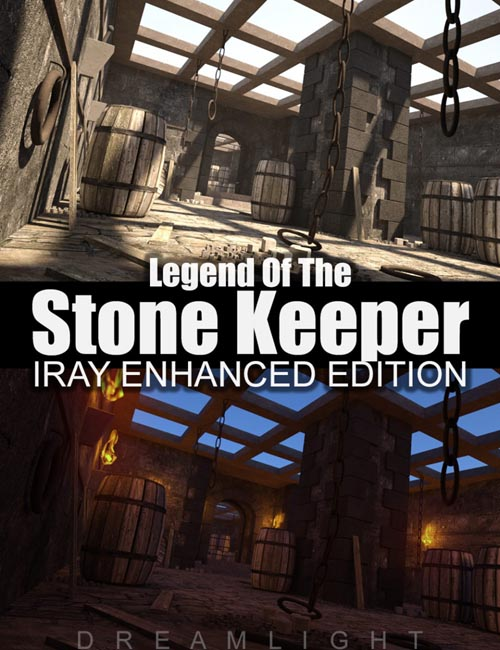Legend Of The Stone Keeper - Iray Edition