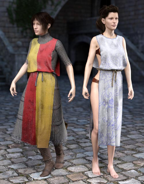 SY Rag Tunic dForce Iray Texture Add-On