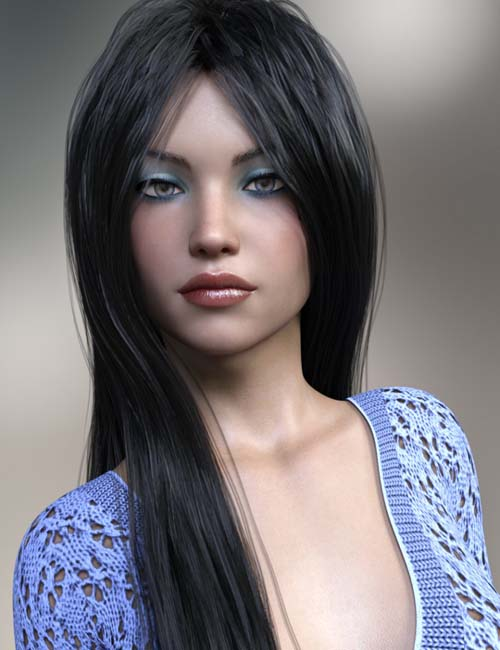 Megah and Swimsuit for Genesis 3 and 8 Female
