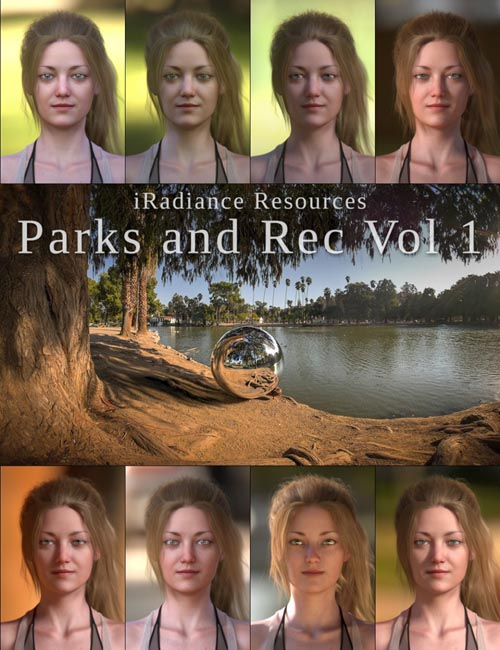 iRadiance HDR Resources - Parks and Rec Vol 1