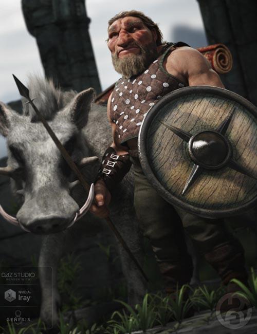 Bolnnar the Dwarf for Genesis 8 Male(s)