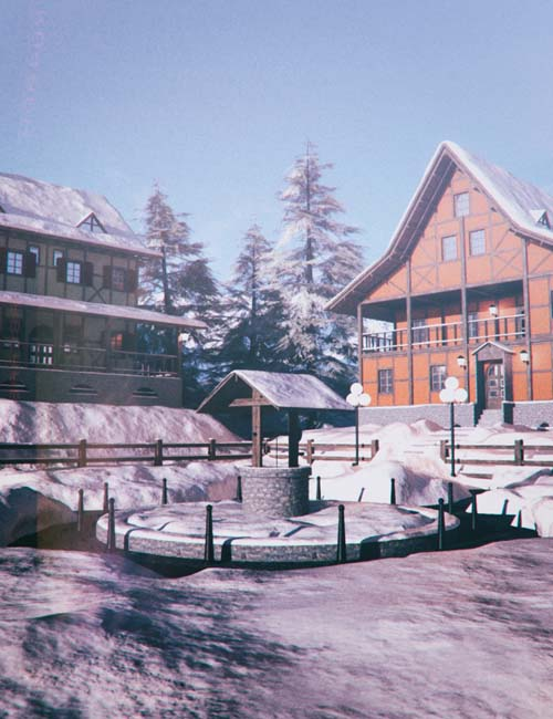Northern Winter Village